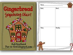 Gingerbread Sequence Freebie