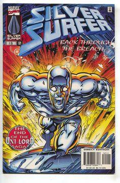 Silver Surfer 121 2nd Series Marvel 1996 NM George Perez Beta Ray Bill Quasar