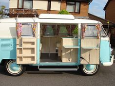 Van Conversions Camper Van Restoration *I KNOW it's not an Airstream, but a similar shape, and a good idea is a idea.*