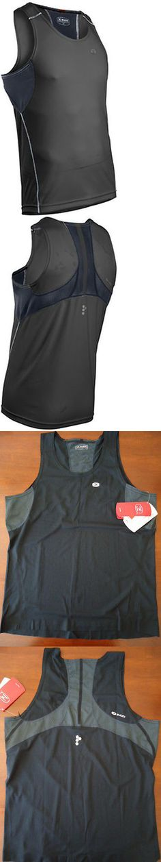 Shirts 59368: Sugoi Rsr Run Singlet Mens Large Shirt Pro Fit Athletic Gym Fitness Bike Black -> BUY IT NOW ONLY: $34.95 on eBay!