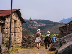 Donkey trekking in Peneda - Gerês National Park 7 days/6nights