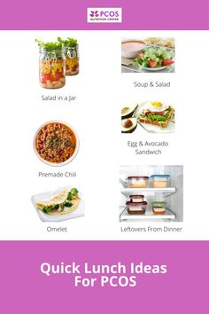 Pcos Diet Plan, Lunch Recipes, Healthy Recipes, 21 Day Meal Plan, Salad In A Jar, Aip Diet, Nutrition Information, Diet And Nutrition, Diet Tips