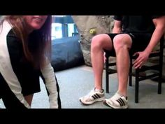 Great Shin Splints Exercise: Toe Taps - YouTube