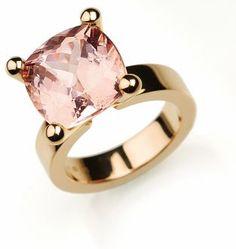 roodgouden ring met tourmalijn| gemaakt door designer-goudsmid luciënne jesse | via jesse.nl
