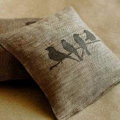 Linen and Lavender Sachets