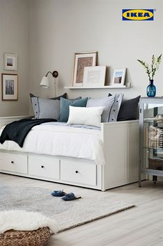 You're not dreaming. The IKEA Bedroom Event is on now until June Get . You're not dreaming. The IKEA Bedroom Event is on now until June Get … You're not dreaming. The IKEA Bedroom Event is on now until June Get off all bed frames. Furniture, Room, Bedroom Furniture Beds, Bedroom Design, Home Decor, Bedroom Furniture, Daybed Room, Small Bedroom, Ikea Bedroom