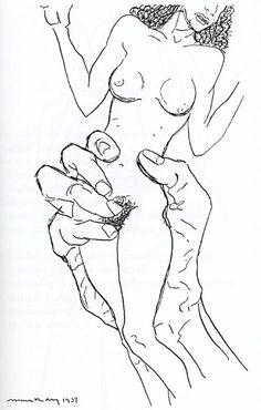d'eux spectateurs: les mains libres - dessins de Man Ray illustrés par des poèmes de Paul Éluard