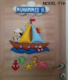 https://flic.kr/p/FATiBH | Muhammed isimli kapı süsü keçe denizci | www.renklihayallerim.com/urun-kategori/kapi-susleri/erkek...  www.renklihayallerim.com/urun-kategori/kapi-susleri/