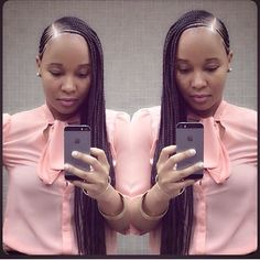 Nigerian Ghana Weaving Styles For Round Faces. These are latest ghana weaving hairstyles for round faces, they will bring out the radiant. Black Girls Hairstyles, African Hairstyles, Braided Hairstyles, Black Girl Braids, Girls Braids, Braid Styles, Short Hair Styles, Natural Hair Styles, Ghana Weaving