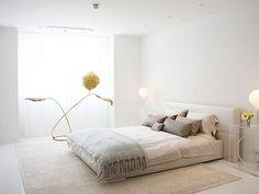 Minimalist White Bedroom Ideas
