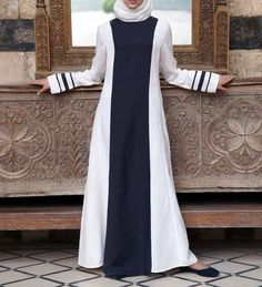 good loking frock style abaya designs (10)