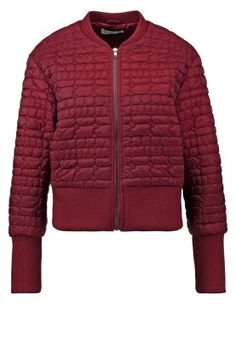 Leichte Jacke - burgundy Casual Outfits, Burgundy, Glamour, Jackets, Fashion, Lightweight Jacket, Casual Clothes, Moda, Casual Wear