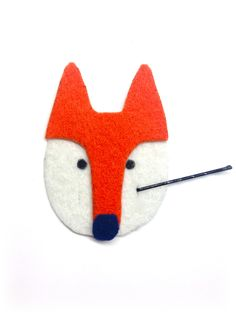 How To Make: A DIY Fox Bobby Pin Holder!