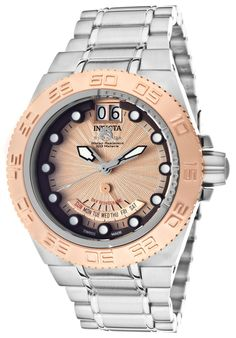 Price:$351.99 #watches Invicta 10871, The Invicta makes a bold statement with its intricate detail and design, personifying a gallant structure. It's the fine art of making timepieces.