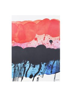 Marimekko´s Weather Diary Collection: Rosala poster