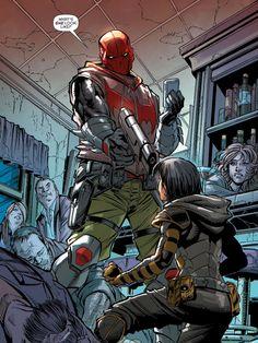 Red Hood vs Cassandra Cain