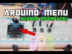 Arduino Led, Arduino Projects, Menu Design, Logs, User Interface, Computers, Raspberry, Youtube, Printers