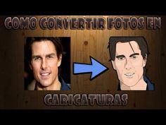 (43) Tutorial- Convertir imagen a caricatura- Adobe Photoshop CC HD 2016 - YouTube