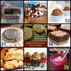 64 Nutella Recipes - including 2 from JavaCupcake.com