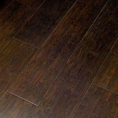 Exotic Locking Bamboo Hardwood Flooring - modern - wood flooring - - by Lowe's