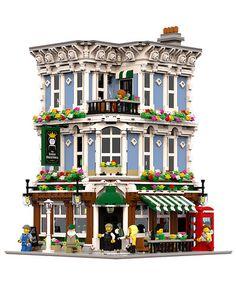 Risultati immagini per lego building drawing Lego Modular, Lego Design, Modular Design, Zaha Hadid Architects, Hama Beads Minecraft, Perler Beads, Village Lego, Lego Poster, Pokemon Lego