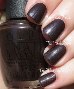 Love is Hot and Coal from the OPI Holiday 2014 Gwen Stefani Collection