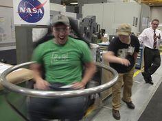 HUNCH Students Take a Spin at NASA Langley