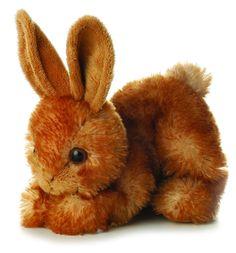 "Bitty Bunny 8"" Mini Flopsie Stuffed Animal, Animals & Figures - Amazon Canada"