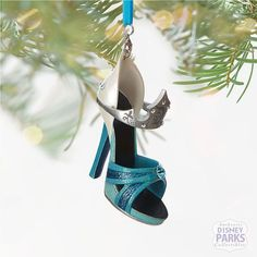 WANT: Shoe Ornament Blue