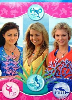 H20 just add water on pinterest cariba heine claire for H20 just add water cast