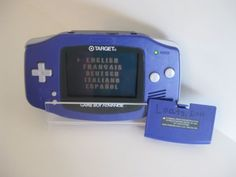TARGET Exclusive Game Boy Advance Indigo/Purple Color AGB-001 2000 Works Great