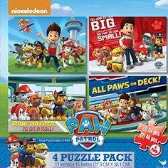Cardinal Industries Paw Patrol 4-Pack of Puzzles Cardinal Industries #PAWPATROL http://www.amazon.com/dp/B00LX0PDWQ/ref=cm_sw_r_pi_dp_blIFub036K7XF