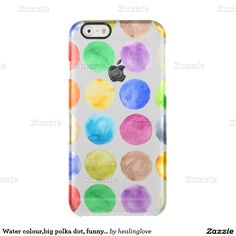water colourbig polka dot funnycutegirlytrend uncommon clearly