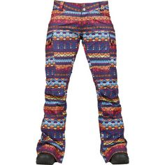 Women's Burton Antigua Stripe Snowpants. $179.95