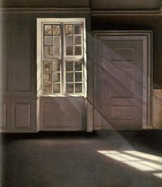 Vilhelm Hammershøi - one of my all time favorite artists