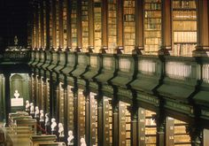 Books as portable pieces of thoughts: The Most Fascinating Libraries of the World 01 - Trinity College Library in Dublin