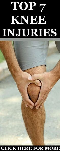 here seven of the most common knee injuries out there. Learn how to spot the symptoms, what causes the conditions and how to proceed if you get one. http://www.runnersblueprint.com/the-7-most-common-running-knee-injuries/ #Runners #Knee #Injuries