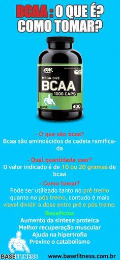 Aprenda #oqué #bcaa, #comotomar #beneficios #dosagem #quantia #cadio #basefitness #efeitos