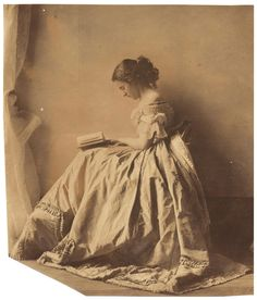 One of the First Ever Fashion Shoots – 150 Year Old Photos by Lady Clementina Hawarden Could Fetch £150,000 at Auction    The rare set of pictures taken by Lady Clementina Hawarden