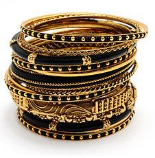 ShopStyle: Amrita Singh Adreena Bangle Set