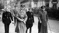 Heinrich Himmler in San Sebastian - 1940