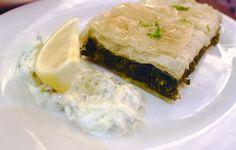 Good Eats : Greeka Kouzina — The Vegaholic Spanakopita, Eat, Ethnic Recipes, Food, Essen, Meals, Yemek, Eten