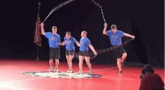 And Double Dutch Pairs Freestyle. | Community Post: The Secret World Of Competitive Jump Rope