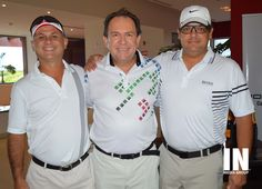 Carlos Chávez, Jorge E. Wynter y Sergio Priego.