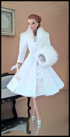 "OOAK+Fashions+for+Silkstone+/+12""+Fashion+Royalty/+Vintage+barbie+/+Poppy+Parker+#LoveFashion"