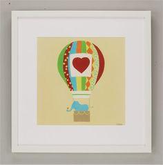 Up, Up & Away III Framed Art #rosenberryrooms