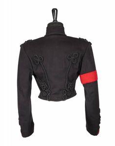 Michael Jackson Jacket, Michael Jackson Outfits, Michael Jackson Merchandise, Gary Indiana, Suits, Military Fashion, Motorcycle Jacket, Ideias Fashion, Singer