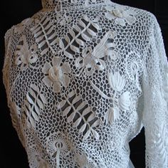 Maria Niforos - Fine Antique Lace, Linens & Textiles : Antique Edwardian & Victorian Clothing