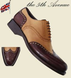 Handmade Shoes for Men | custom made shoes for men - luxurious handmade Spectator shoes