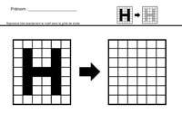 MATHEMATIQUES Déplacements codés et symétrie en grande section moyenne section et cp